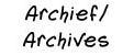 archief/archives